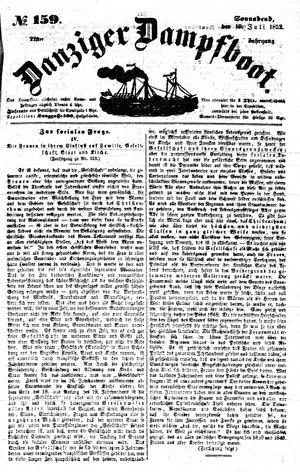 Danziger Dampfboot für Geist, Humor, Satire, Poesie, Welt- und Volksleben, Korrespondenz, Kunst, Literatur und Theater vom 10.07.1852