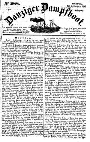 Danziger Dampfboot für Geist, Humor, Satire, Poesie, Welt- und Volksleben, Korrespondenz, Kunst, Literatur und Theater on Dec 8, 1852