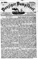 Danziger Dampfboot für Geist, Humor, Satire, Poesie, Welt- und Volksleben, Korrespondenz, Kunst, Literatur und Theater (16.12.1852)
