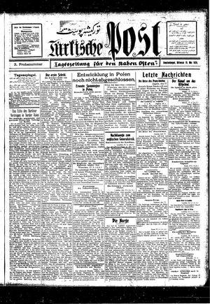 Türkische Post vom 19.05.1926