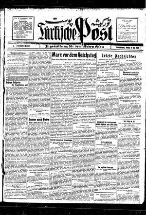 Türkische Post vom 21.05.1926