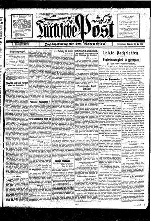 Türkische Post vom 22.05.1926