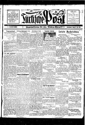 Türkische Post vom 23.05.1926