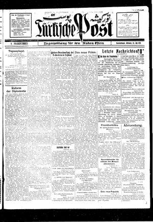 Türkische Post vom 26.05.1926