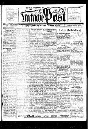 Türkische Post vom 28.05.1926