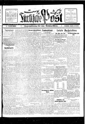 Türkische Post vom 29.05.1926
