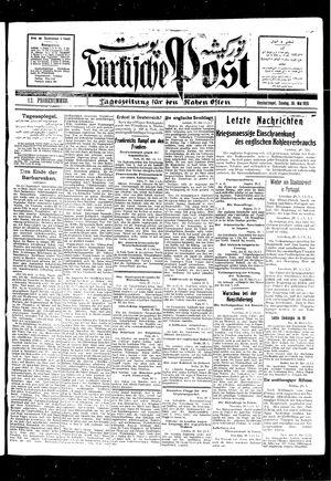Türkische Post vom 30.05.1926