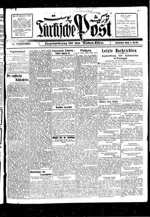 Türkische Post vom 31.05.1926