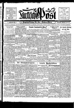 Türkische Post vom 06.01.1927