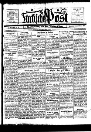 Türkische Post vom 08.01.1927