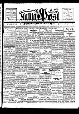 Türkische Post vom 09.01.1927