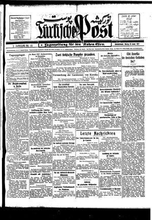 Türkische Post vom 10.01.1927