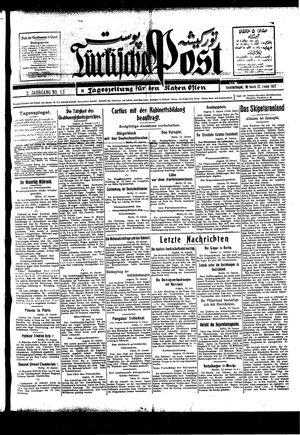 Türkische Post vom 12.01.1927