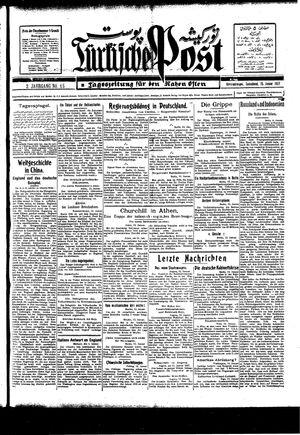 Türkische Post vom 15.01.1927