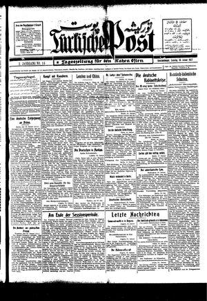 Türkische Post vom 16.01.1927