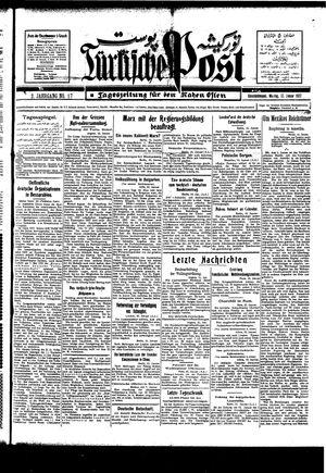 Türkische Post vom 17.01.1927