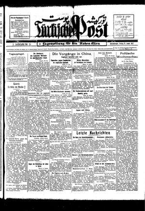 Türkische Post vom 21.01.1927