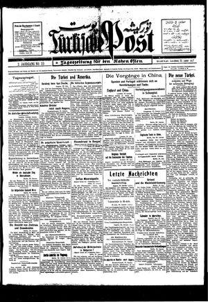 Türkische Post on Jan 22, 1927