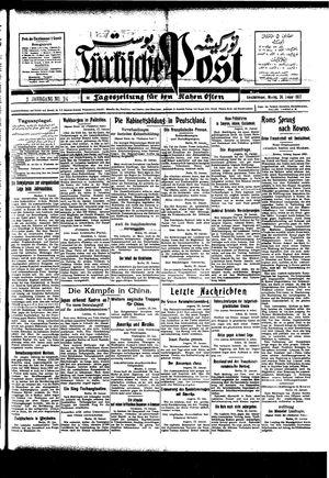 Türkische Post vom 24.01.1927