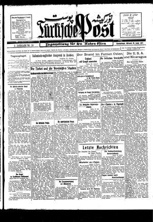 Türkische Post vom 26.01.1927
