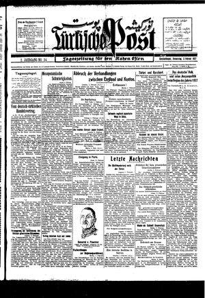 Türkische Post vom 03.02.1927