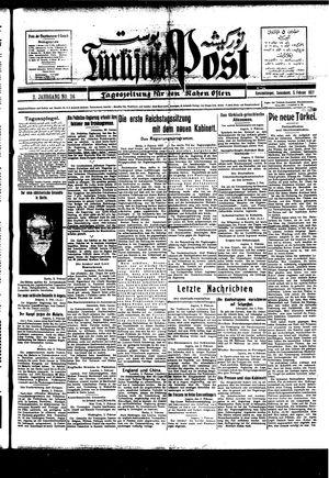 Türkische Post vom 05.02.1927