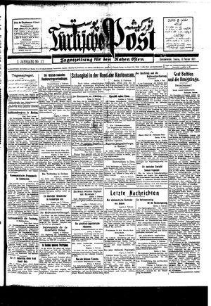 Türkische Post vom 06.02.1927