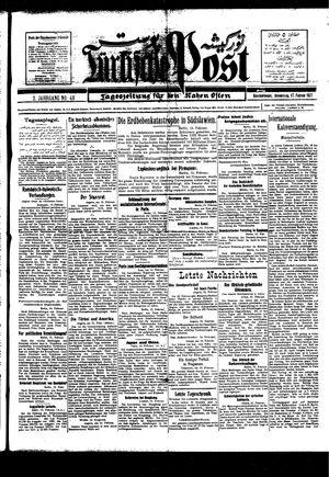 Türkische Post vom 17.02.1927
