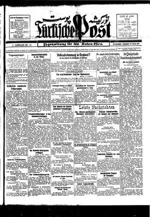 Türkische Post vom 19.02.1927