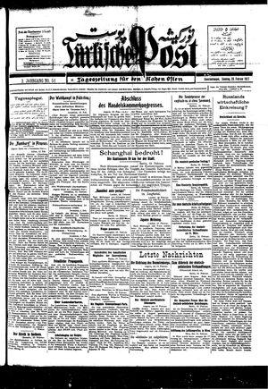 Türkische Post vom 20.02.1927