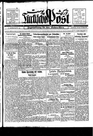Türkische Post vom 23.02.1927