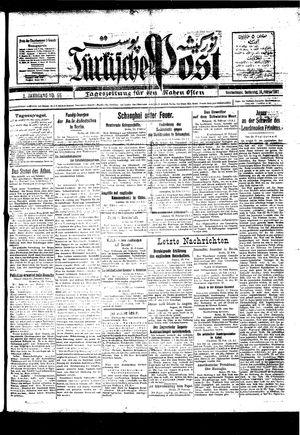 Türkische Post vom 24.02.1927