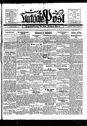 Türkische Post vom 27.02.1927