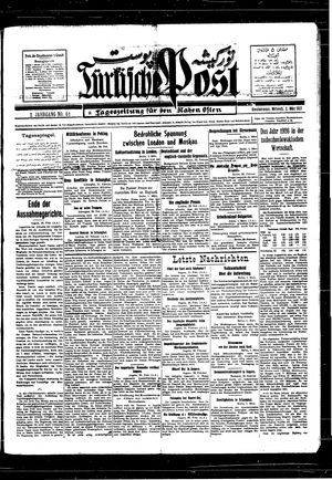 Türkische Post vom 02.03.1927