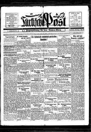 Türkische Post vom 03.03.1927
