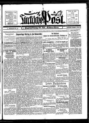 Türkische Post vom 05.03.1927
