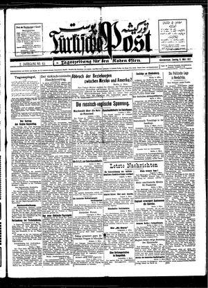 Türkische Post vom 06.03.1927