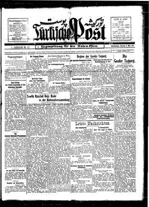 Türkische Post vom 08.03.1927