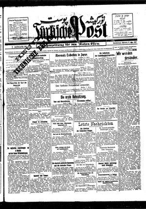 Türkische Post vom 09.03.1927