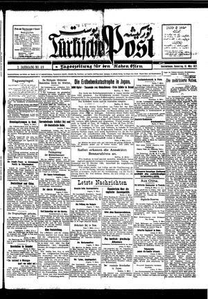 Türkische Post vom 10.03.1927