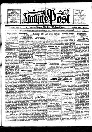 Türkische Post vom 16.03.1927