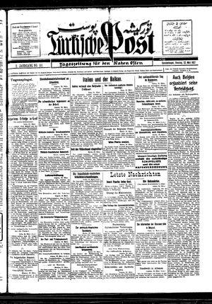 Türkische Post vom 22.03.1927