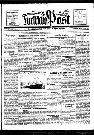 Türkische Post vom 23.03.1927