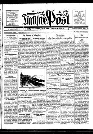 Türkische Post vom 24.03.1927