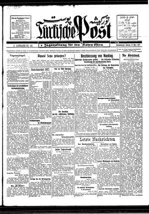Türkische Post vom 27.03.1927
