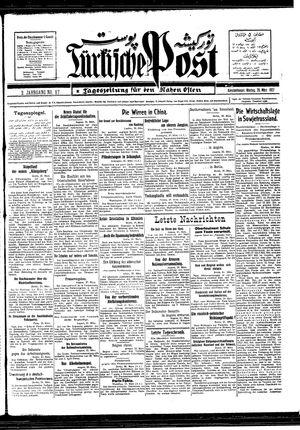 Türkische Post vom 28.03.1927