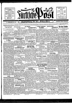 Türkische Post vom 29.03.1927