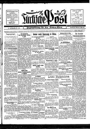 Türkische Post vom 30.03.1927