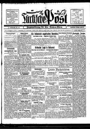 Türkische Post vom 05.04.1927
