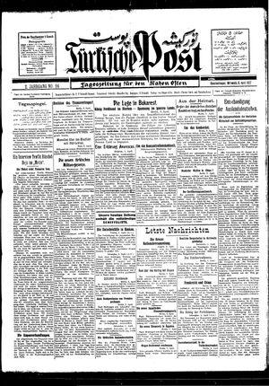 Türkische Post vom 06.04.1927